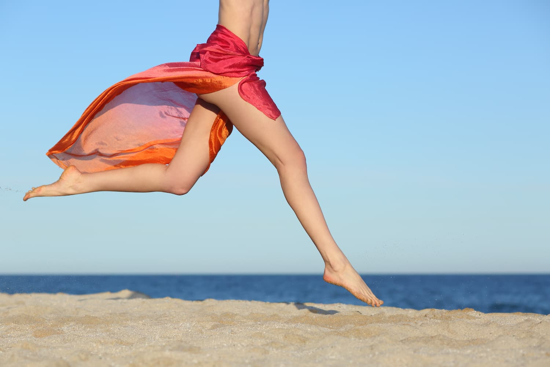 ly legs beach